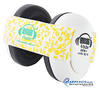 Наушники для детей Em's 4 Bubs (0-18 мес), white + выбор цвета  ленты.