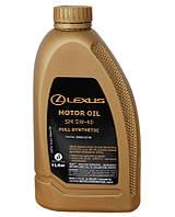 Масло моторное lexus fully syntetic lexus 5w-40 sm, 1л (производство TOYOTA ), код запчасти: 0888082790