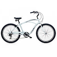 "Велосипед 26"" ELECTRA Cruiser Lux 7D Men's Silver Satin"