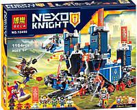 Китайское Лего Нексо Найтс Bela 10490: 1171 деталь, 7 фигурок, коробка 57,5х37,5х8 см, 6+ лет