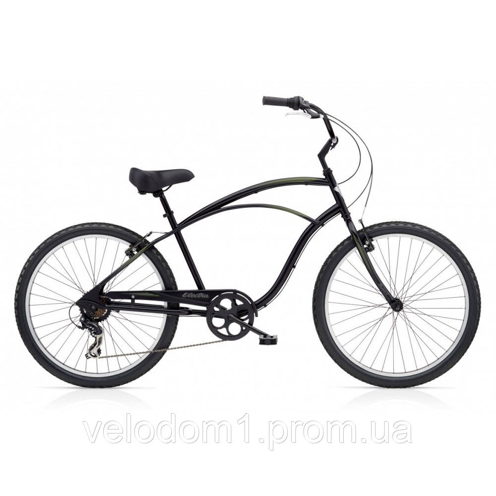 "Велосипед 26"" ELECTRA Cruiser 7D Men's Tall Black"