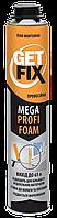 Пена монтажная 750мл (до 50л) PROFI GETFIX