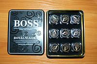Настоящая Boss Royal Viagra, таблетки для потенции 9 баночек -27 шт!