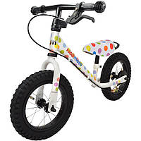 "Беговел 12"" Kiddi Moto Super Junior MAX SUPER DOTTY алюминиевый"