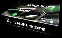Лазерный целеуказатель HJ-12 (зеленый луч)
