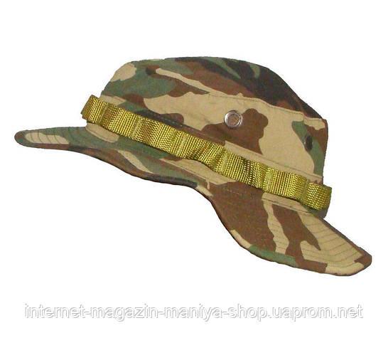 Шляпа мужская камуфляжная с широкими полями