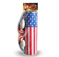 Боксерский набор малый Америка, груша, перчатки