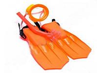Набор для подводного плавания 33038c маска, трубка, ласты