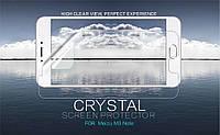 Защитная пленка для телефона Nillkin Crystal для Meizu M3 Note / Blue Charm Note3 (Анти-отпечатки)