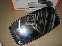 Зеркало боковое СуперМАЗ, КAMAЗ 443х215 сферическое (с подогревом)  (производство Дорожная карта ), код запчасти: DK-5076H