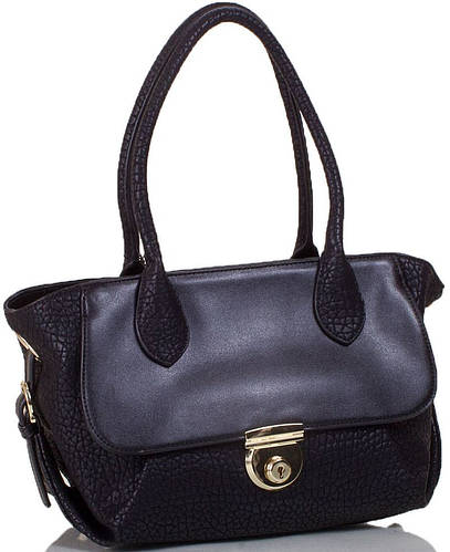 Женская сумка из искусственной кожи ANNA&LI  (АННА И ЛИ) TU14118L-black (черный)