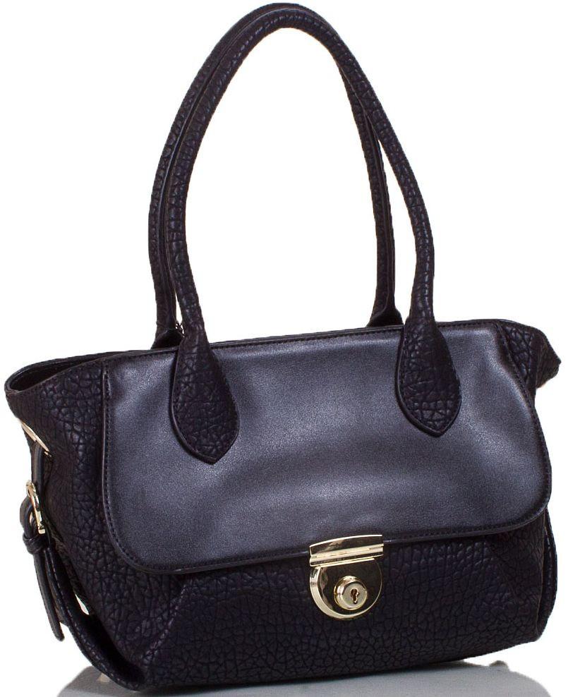 Женская сумка из эко кожи ANNA&LI TU14118L-black черный