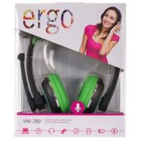 Наушники ergo vm-280 Зеленый