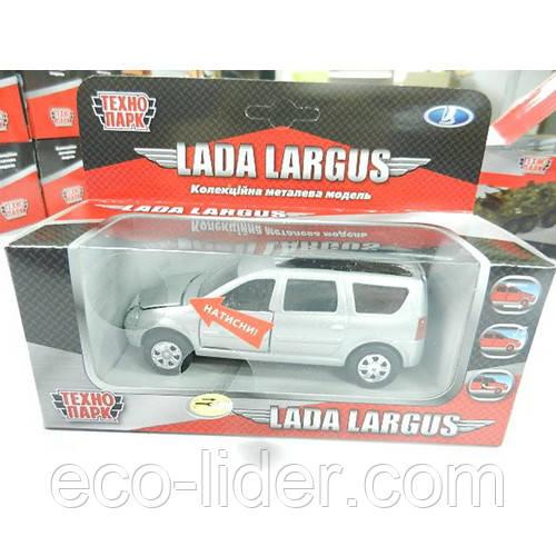 Автомодель - LADA LARGUS (свет, звук)