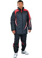 Куртка Зимняя Europaw черно-красная