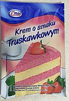 Krem o smaku truskawkowym 100g