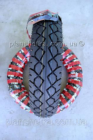 Резина на скутер 130-90-15 бескамерная шоссейная , фото 2