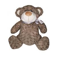 Мягкая игрушка - МЕДВЕДЬ (коричневый, с бантом, 33 см)