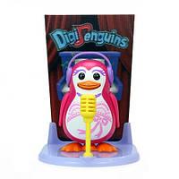 Игровой набор с интерактивным пингвином DigiPenguins - ТЭЙЛОР НА СЦЕНЕ (со сценой и свистком)
