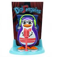 Игровой набор с интерактивным пингвином DigiPenguins - ТРЭВИС НА СЦЕНЕ (со сценой и свистком)