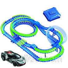 Игровой набор сер. WAVE RACERS Захватывающие горки (трек  со спиралью, 1сенсор.модель, заряд.уст-во)