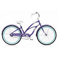 "Велосипед 26"" ELECTRA Hawaii Custom 3i (Alloy) Ladies' Purple Metallic"