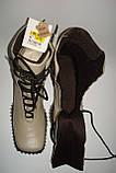 Ботинки женские кожаные Испания, фото 5