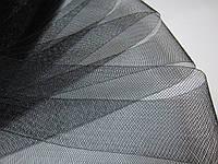 Регилин мягкий (кренолин) плоский 5 см чёрный