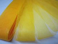 Регилин мягкий (кренолин) плоский 4 см жёлтый, фото 1
