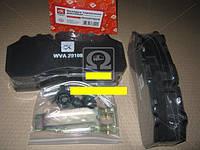 Колодка тормозных дисков (комплект на ось) BPW, DAF XF95, IVECO, MB ACTROS, SAF, SCANIA № 29108