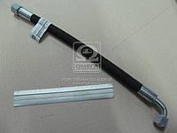 Рукав МТЗ L=420 Ключ 24 d-10 (РВД 2 слойн.)  (производство Дорожная карта ), код запчасти: 680-4607140-01