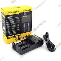 Интеллектуальное зарядное устройство Nitecore Intellicharger i2