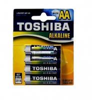Батарейка TOSHIBA LR6 BLUE LINE Alkaline 4 BL