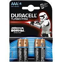 "Батарейка DURACELL AAA Turbo Max ""Star Wars"" LR03 MN2400 4 BL"
