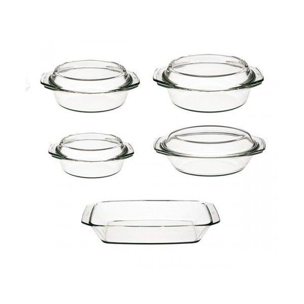 Набор посуды (кастр. с крыш 1,0л,1.5л,2,0л,2,4л , лот.прям.2,4л)-9 пр. Simax s315