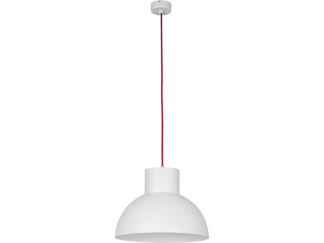 WORKS WHITE-RED I zwis