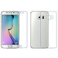 Защитная пленка для телефона Ultra Screen Protector (на заднюю панель) Samsung G925F Galaxy S6 Edge (Прозрачна