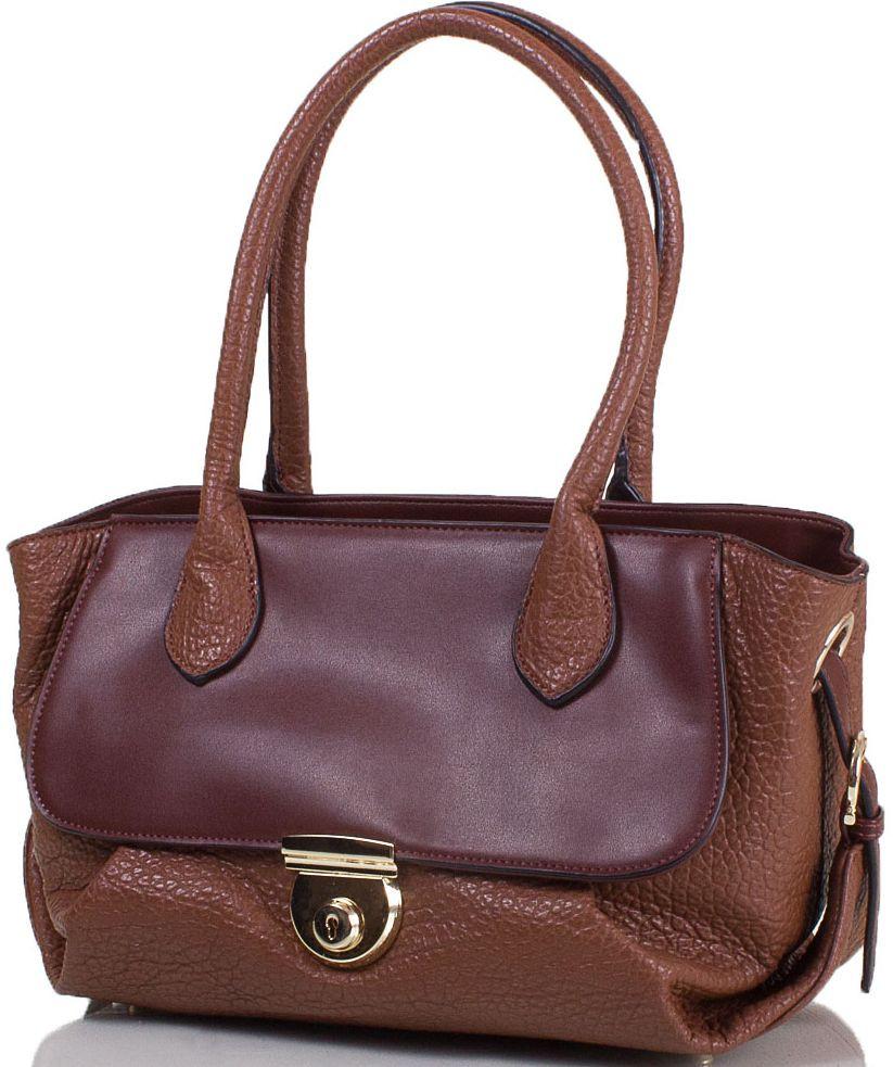 Женская сумка из эко кожи ANNA&LI TU14118L-khaki коричневый