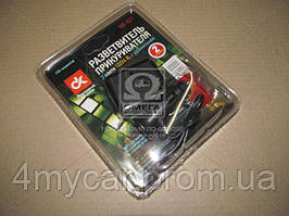 Разветвитель прикуривателя, 2в1 ,удлинитель, LED индикатор,  (производство Дорожная карта ), код запчасти: WF-021