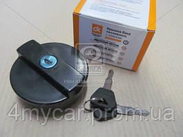 Крышка бака топливного ВАЗ старого образца пластм. с ключом  (производство Дорожная карта ), код запчасти: 2101-1103010