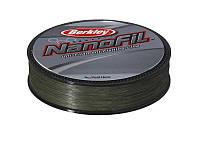 Шнур Berkley Nanofil  0,08мм; 4.012кг; 270м зелёный
