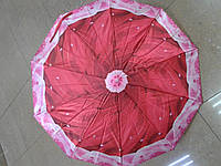 Усиленный зонт автомат ткань сатин (атлас)