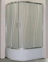 Душевая кабина SANTEH 1115R(115*85*195) правая поддон 36 см хром/ROLA