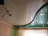 Глянцевые натяжные потолки, фото 1