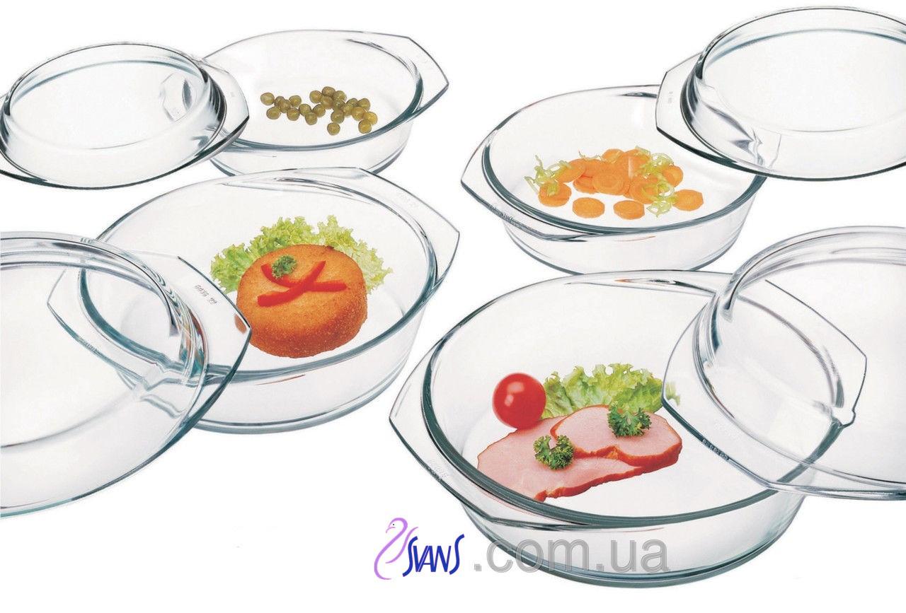 Набор посуды (кастр. с крыш 0,7л, 1,0л,1,5л, 2,0л)-8 пр. Simax s310
