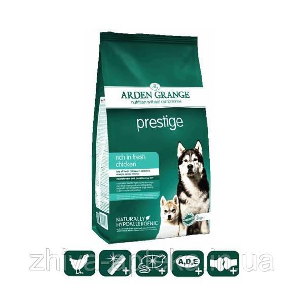 Adult Dog Prestige корм для собак со свежей курицей и рисом 12кг