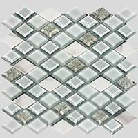 Мозаика из мрамора и стекла Vivacer T04