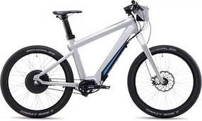 Электрический велосипед GRACE ONE, белый