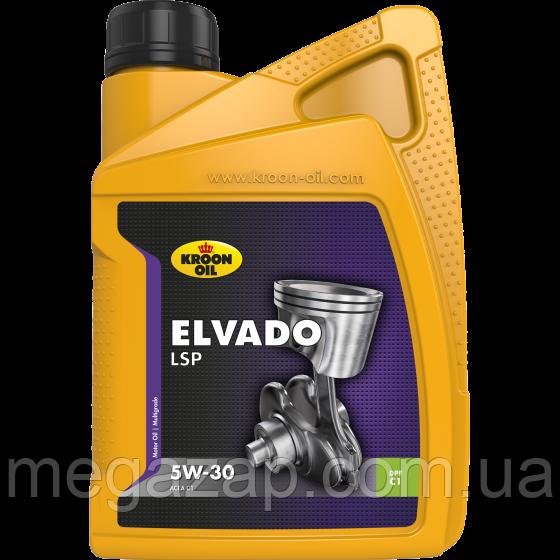 Масло моторное синтетическое Kroon Oil Elvado LSP 5W-30  1л.