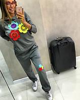 Спортивный костюм Смайл цветочки 641